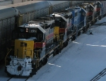 The Iowa Interstate Comes into Blue Island Yard